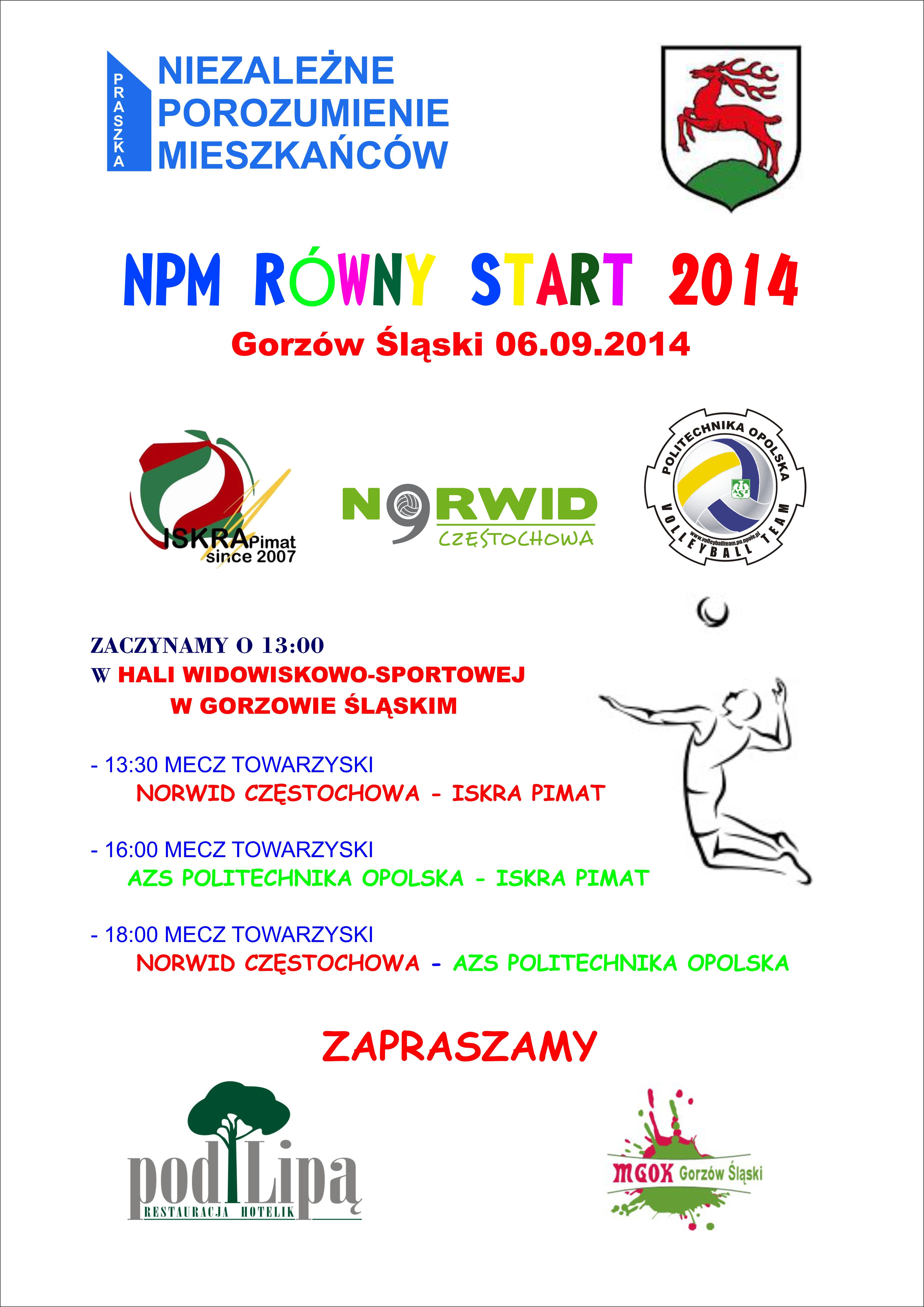 Plakat_ROWNYSTART